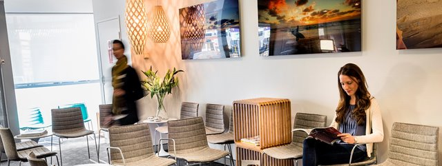 Reception Waiting Area - Cottesloe Dental